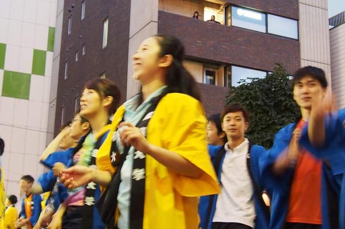 北海道教育大学函館校チーム。ワッショイはこだて千代台五稜郭コースより_b0106766_1384037.jpg
