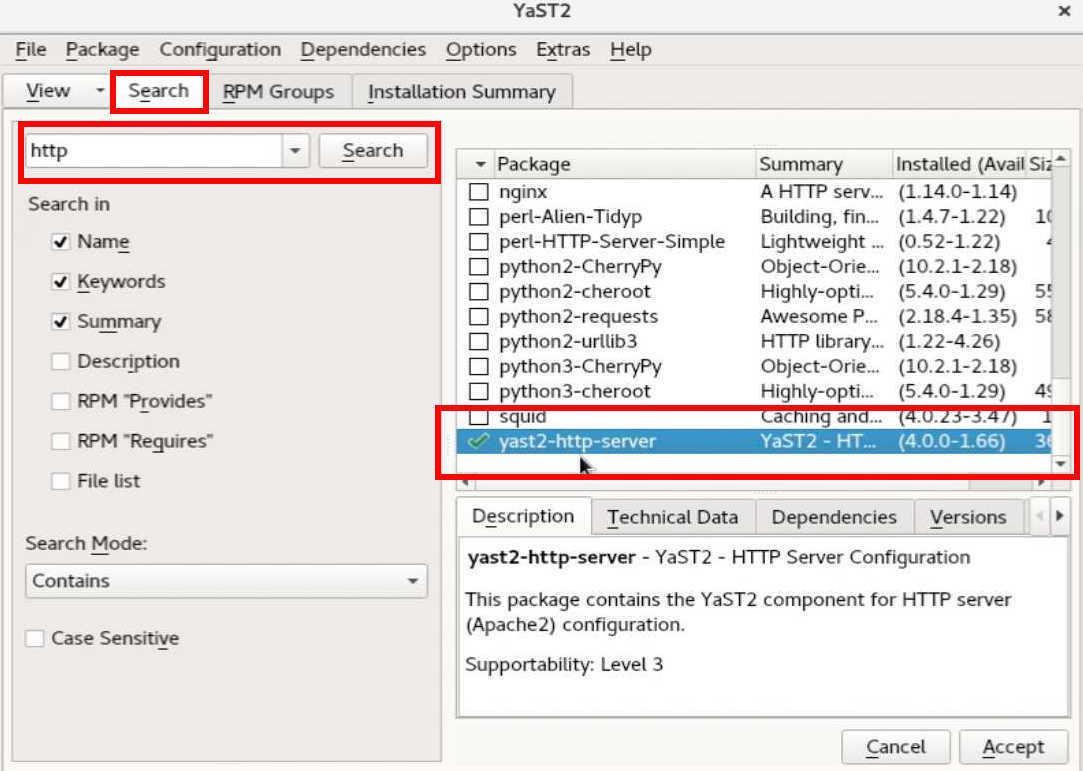 SUSE linux 15 (SLES15) で HTTPサーバー と php7を動かす_a0056607_15040641.jpg