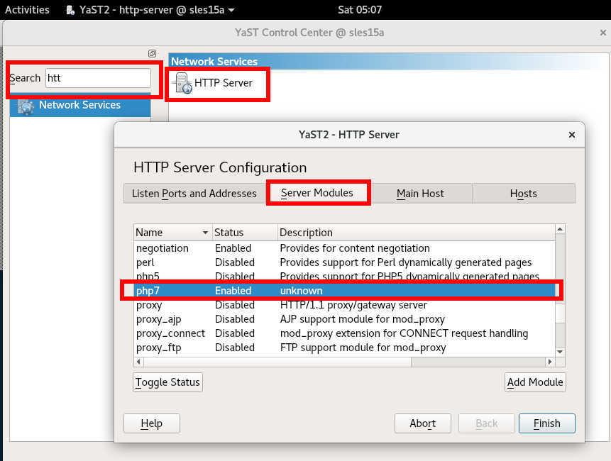 SUSE linux 15 (SLES15) で HTTPサーバー と php7を動かす_a0056607_15185179.jpg