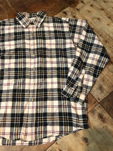 本日入荷! 80s Made in USA L .L .Beanネルシャツ_c0144020_15050534.jpg