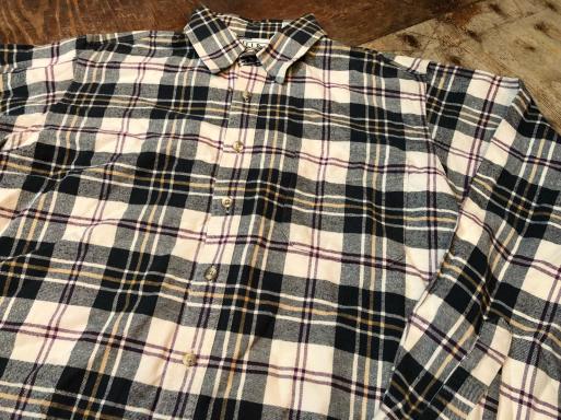 本日入荷! 80s Made in USA L .L .Beanネルシャツ_c0144020_15050848.jpg