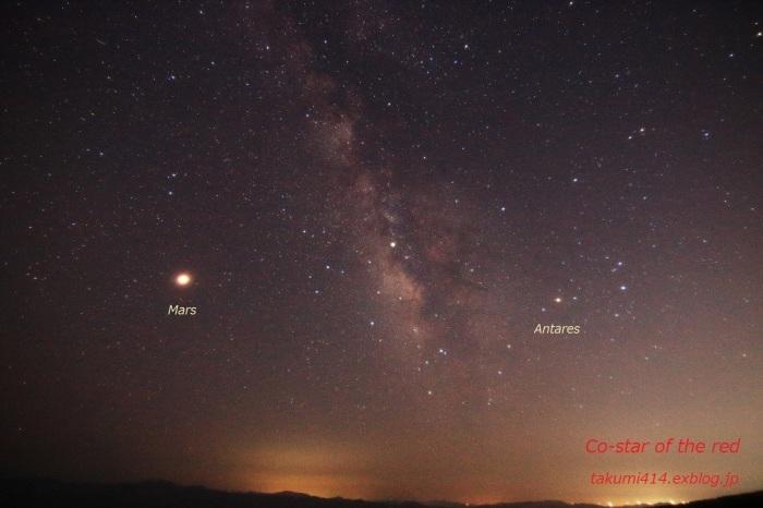 Mars, the bright red star / 火星大接近_b0188757_09244764.jpg