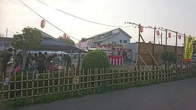 倉見自治会盆踊り_b0374059_12452454.jpg