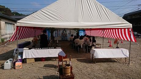 鹿児島市の保育園の起工式でした。_d0174072_10464026.jpg