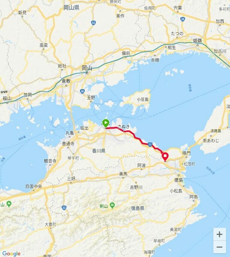106日目【高松−自宅】なんとか日本一周できました!_e0201281_19074900.jpg