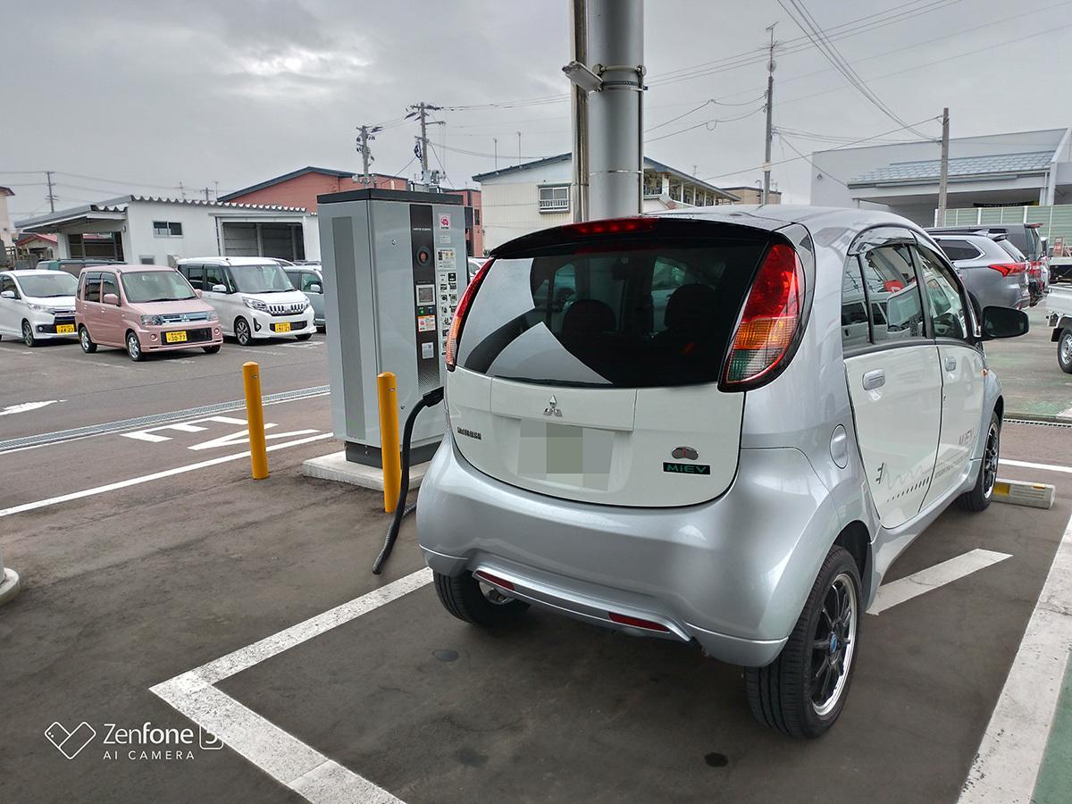 人生が嫌になったんで最弱電気自動車三菱 i-MiEVで東北自動車道700キロを走破してみた_a0112888_02505045.jpg
