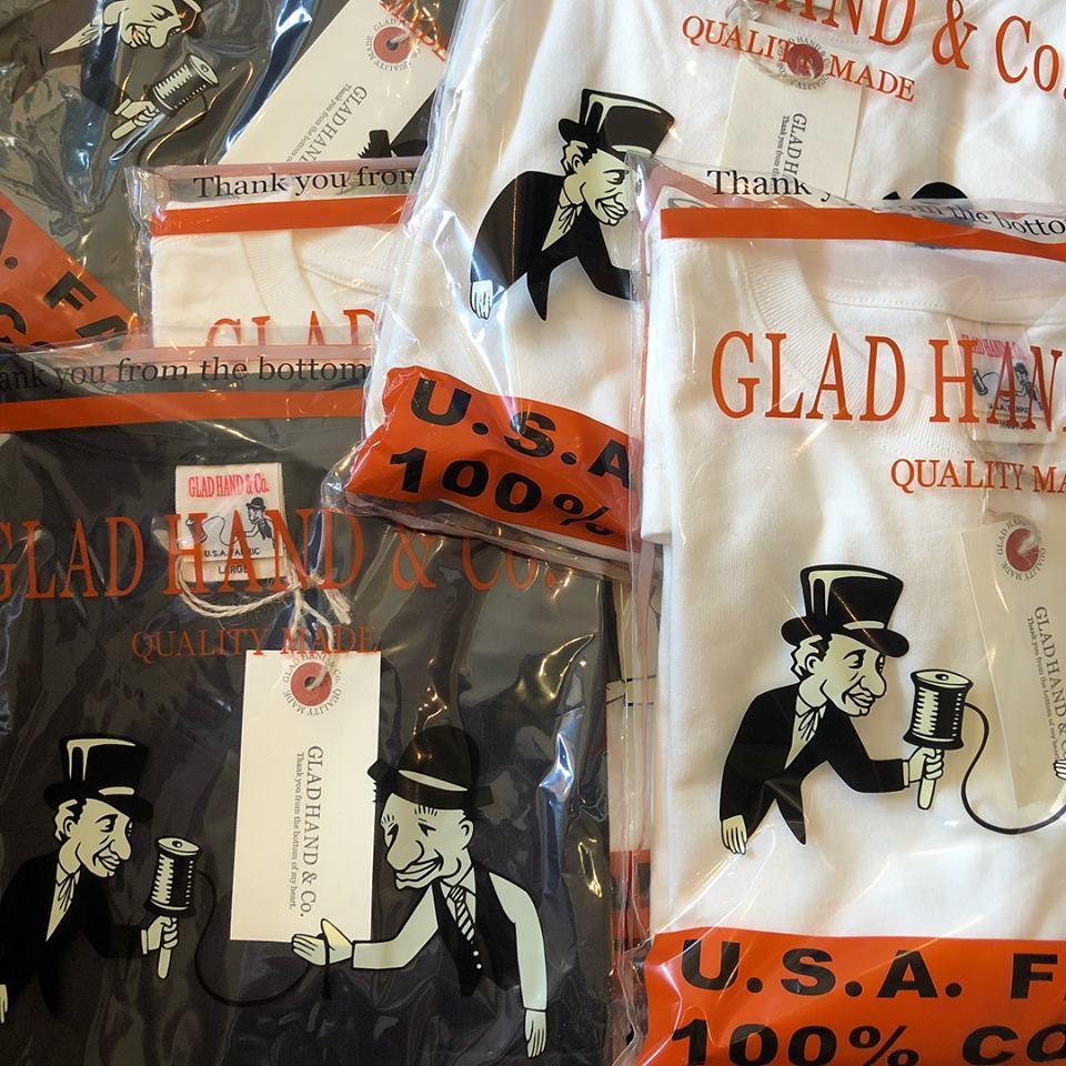 GLAD HAND PACT-T SHIRTS S/S フォロー_c0140709_15120935.jpg