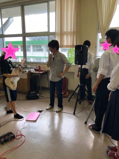 2018/8/5「高校出張レッスン」_e0242155_00024361.jpg