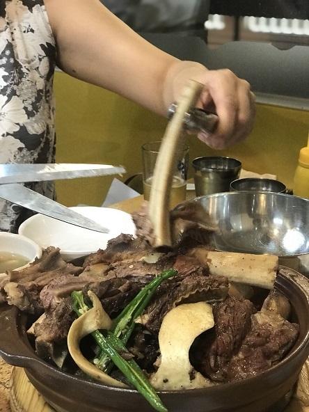 江南麺屋で骨付きカルビチムと冷麺の幸せな組み合わせ_b0060363_17202057.jpg
