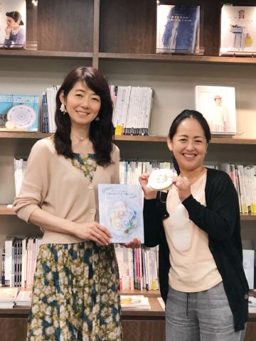 『しあわせのリボン刺しゅう』 出版記念ワークショップ《花リースのコンパクトミラー》@西武渋谷サンイデー にご参加くださった皆さま どうもありがとうございました_a0157409_12160385.jpeg