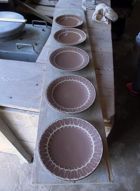 丹窓窯より、素敵なスリップウェアの器が届きました_d0193211_19144585.jpg