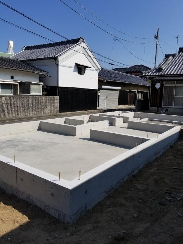 松山市 M様邸 新築工事①_a0167735_13172275.jpg