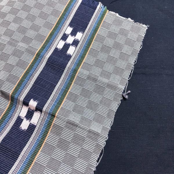 みんさー織のショルダーバッグを作っています。_e0104046_05065747.jpg