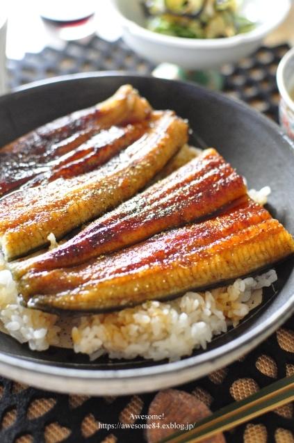 立秋に鰻を食べる_e0359481_20351671.jpg