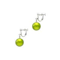 身につける漆 漆のアクセサリー イヤリング 糖蜜珠 ライムグリーン色 坂本これくしょんの艶やかで美しくとても軽い和木に漆塗りのアクセサリー SAKAMOTO COLLECTION wearable URUSHI accessories  earrings Molasses Jewel lime green color 糖蜜のようにつややかな丸い珠が耳元で女性らしくゆらゆら揺れる愛らしいフォルム、樹木が芽吹くことをイメージしたなんとも清清しい緑、ボリュームがありながらもとても軽くて1日着けていても耳が痛くなりにくい仕上がりです。  #漆のアクセサリー #軽いイヤリング #漆のイヤリング #糖蜜珠 #ライムグリーン #イヤリング #accessories #jewelry #earrings #Molasses #Jewel #limegreen #greencolor