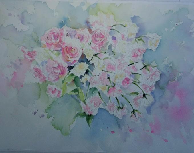 薔薇の水彩画_f0035506_20283319.jpg