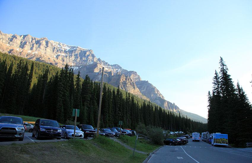 車両規制により、今やロッキーで最もプレミア感の高い日帰りハイキングコースとなったラーチバレー。_d0112928_05185011.jpg