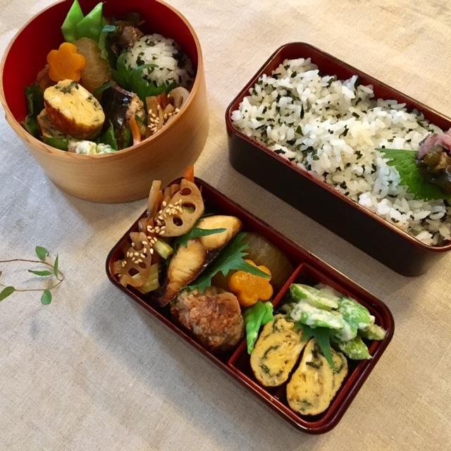 lunch box  久しぶりに煮物_a0165160_08580119.jpg