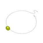 身につける漆 漆のアクセサリー ペンダント あけの実 ライムグリーン色 オメガラウンドコード 坂本これくしょんの艶やかで美しくとても軽い和木に漆塗りのアクセサリー SAKAMOTO COLLECTION wearable URUSHI accessories pendants Nuts lime green color Omega cord 小さな小さな玉子のような可愛らしい形をした軽くてつけ心地のよいチョーカータイプ、ポップで楽しく心癒される坂本これくしょんオリジナルカラー、ポロっとこぼれるような雰囲気でつけられるのが印象的、コーディネイトを楽しんでいただけるアイテム。 #accessories #jewelry #pendants #nuts #LimeGreen #GreenPendants #漆のアクセサリー #軽いペンダント #漆のペンダント #ペンダント #あけの実 #ライムグリーン