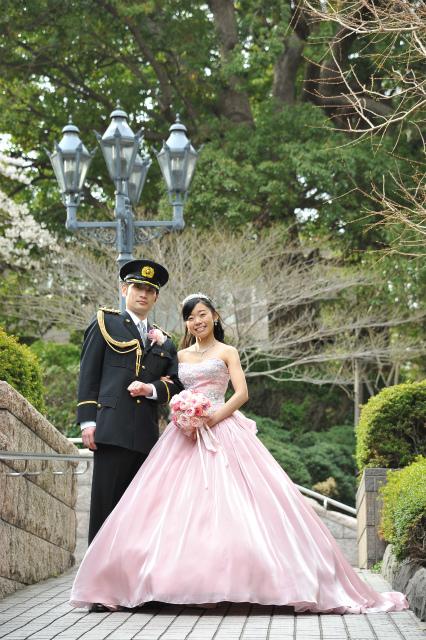 卒花嫁様アルバム マリオットホテルの花嫁様より、桜のころ、先生に_a0042928_21020311.jpg