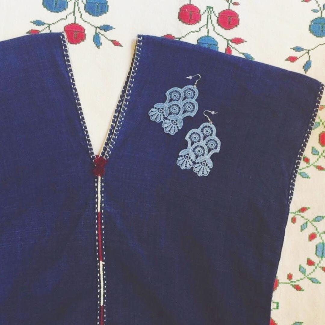 夏のお供の貫頭衣祭り 谷中クリコ_d0156336_13264187.jpg