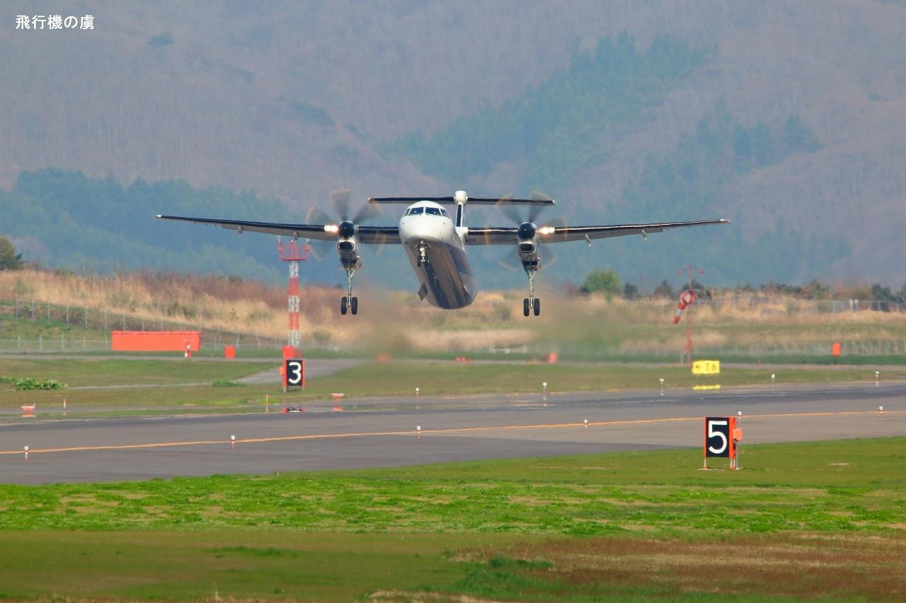 早い上がりで  DHC-8  ANAウイングス(EH)_b0313338_17142730.jpg