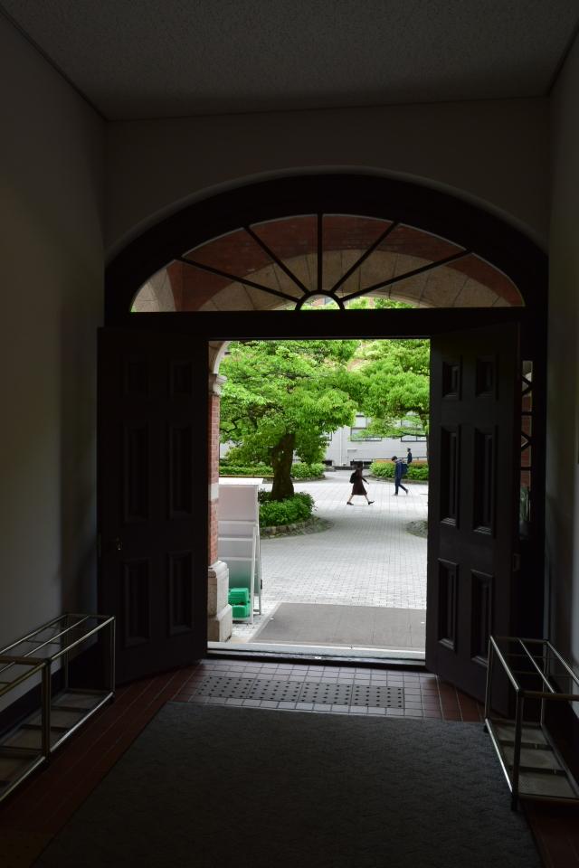 京都同志社大学ハリス理化学館(明治モダン建築探訪)_f0142606_07261600.jpg