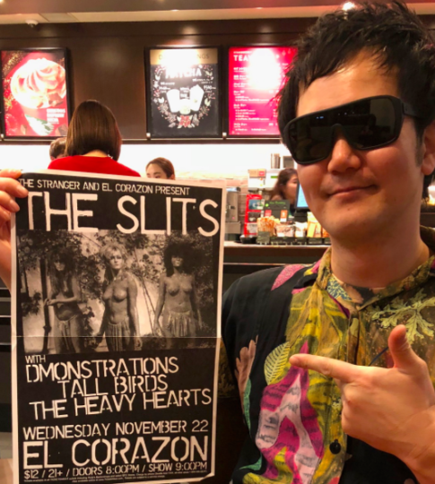 俵谷哲典氏インタビュー公開 Tetsunori Tawaraya Interview The Slits_b0074921_15300735.png