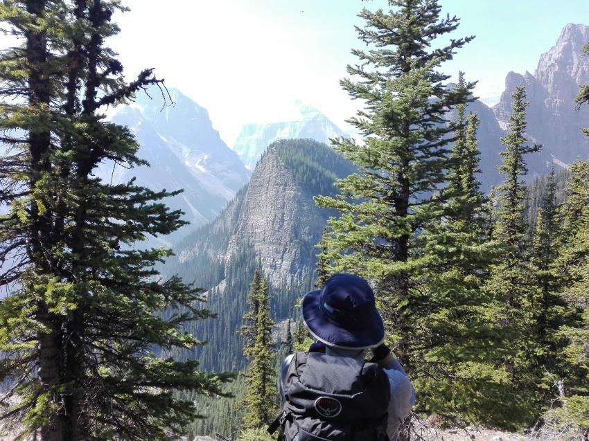 レイクルイーズを上から見れる絶景ハイキング_d0112928_12561817.jpg