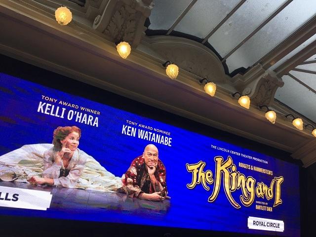 やっぱり渡辺謙さんは凄かった!ミュージカル「王様と私」ロンドン公演_a0123372_21225281.jpg