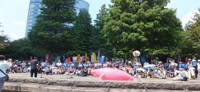 沖縄県民大会に呼応する首都圏大行動に2800人!_d0391192_21530326.jpg
