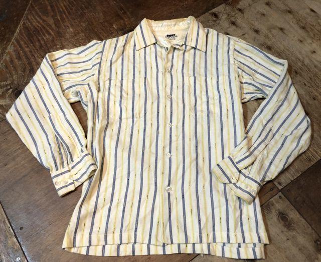 8月13日(月)入荷! 50s GAME &LAKE ボックス オープンカラーシャツ!_c0144020_15030214.jpg