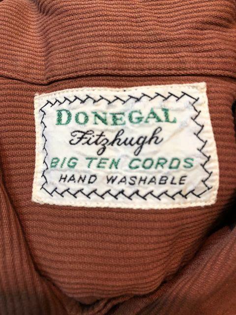8月14日(火)入荷! 40s〜DONEGAL BIG TEN CORDS オープンカラー コットンシャツ!_c0144020_18323442.jpg