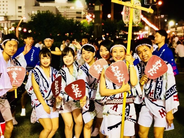 学生たちの阿波踊り_a0103940_16194642.jpeg