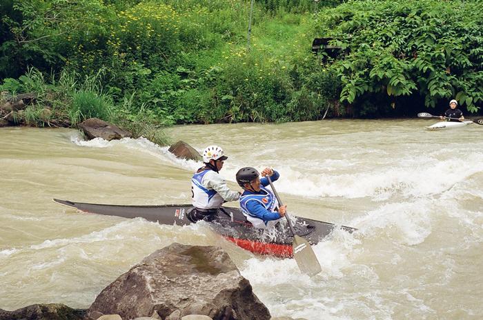 蛇腹カメラで撮る幾春別川のカヌー・カヤック競技_c0182775_15595771.jpg