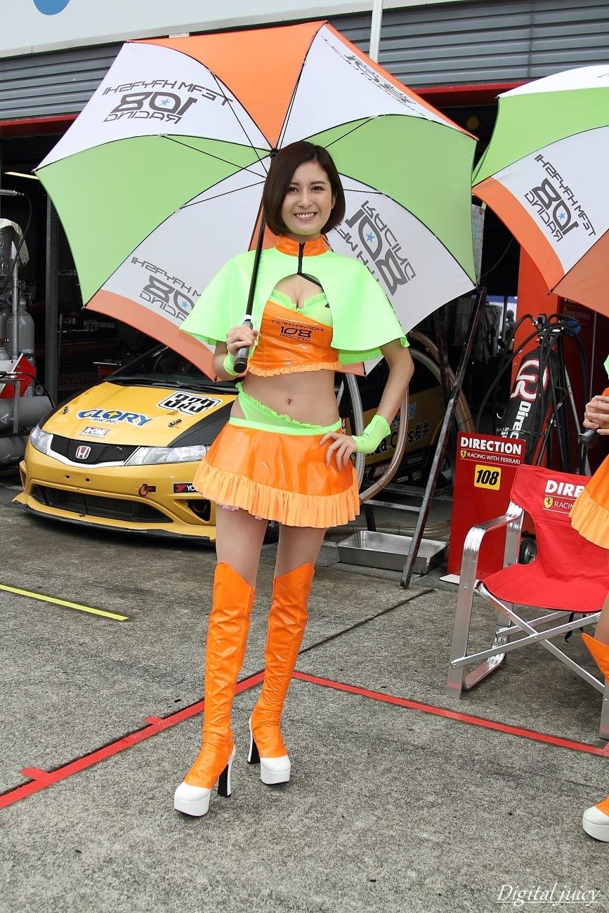 風早りお さん(IRECTION RACING レースクイーン)_c0216181_17433897.jpg