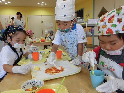 【千葉新田町園】菜園活動とピザ作り_a0267292_09414328.jpg