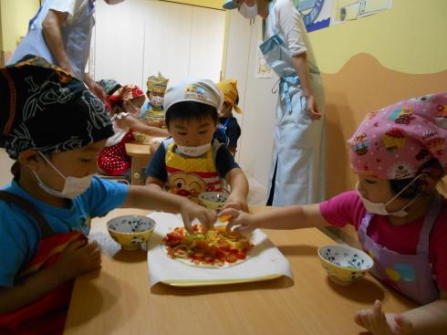 【千葉新田町園】菜園活動とピザ作り_a0267292_09421420.jpg
