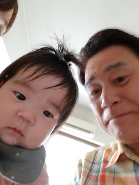 孫のはーちゃんに会いました😉🎵_e0119092_12395909.jpg
