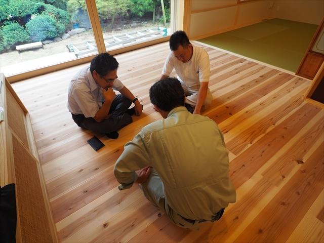 社内検査&気密測定@成増のいえ_f0207410_11173597.jpg