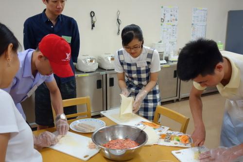 日曜朝教室で料理をしました_e0175020_09293752.jpg