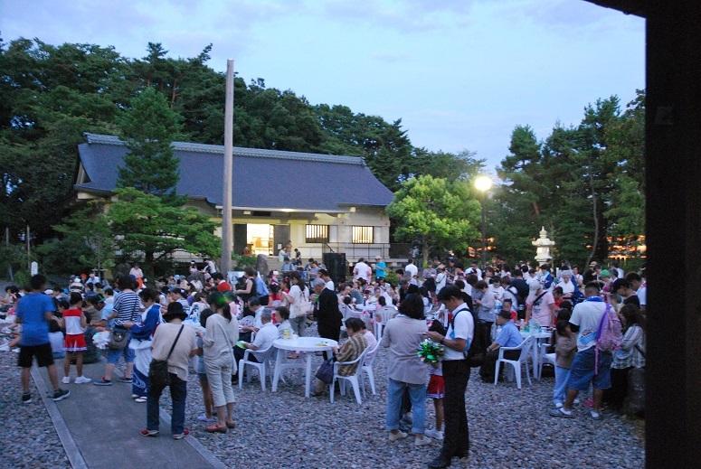 みたま祭 1日目 福男福女ビンゴゲーム_f0067122_11292246.jpg
