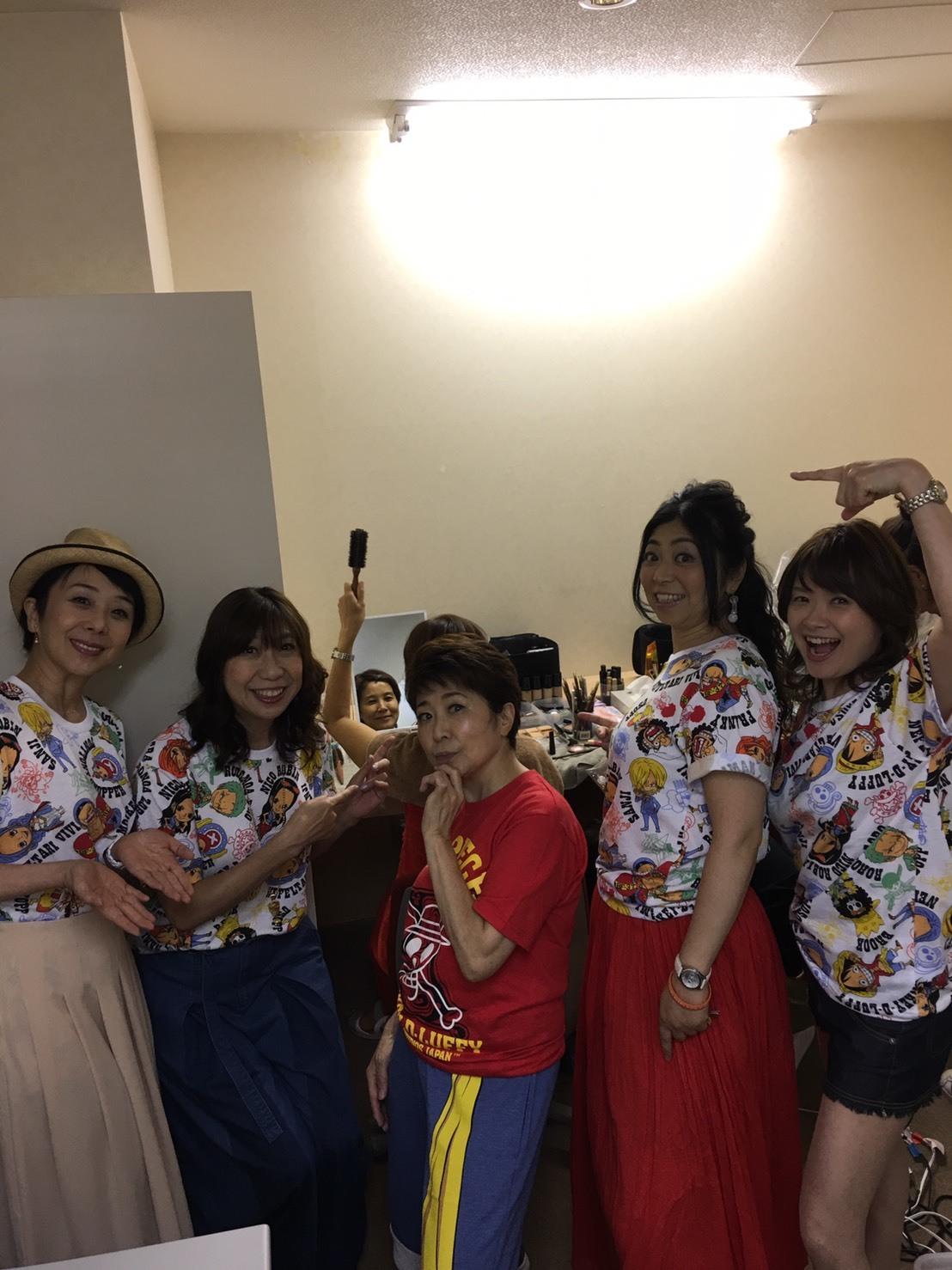 ワンピースプレミアショー 女子会_a0163623_11131460.jpg