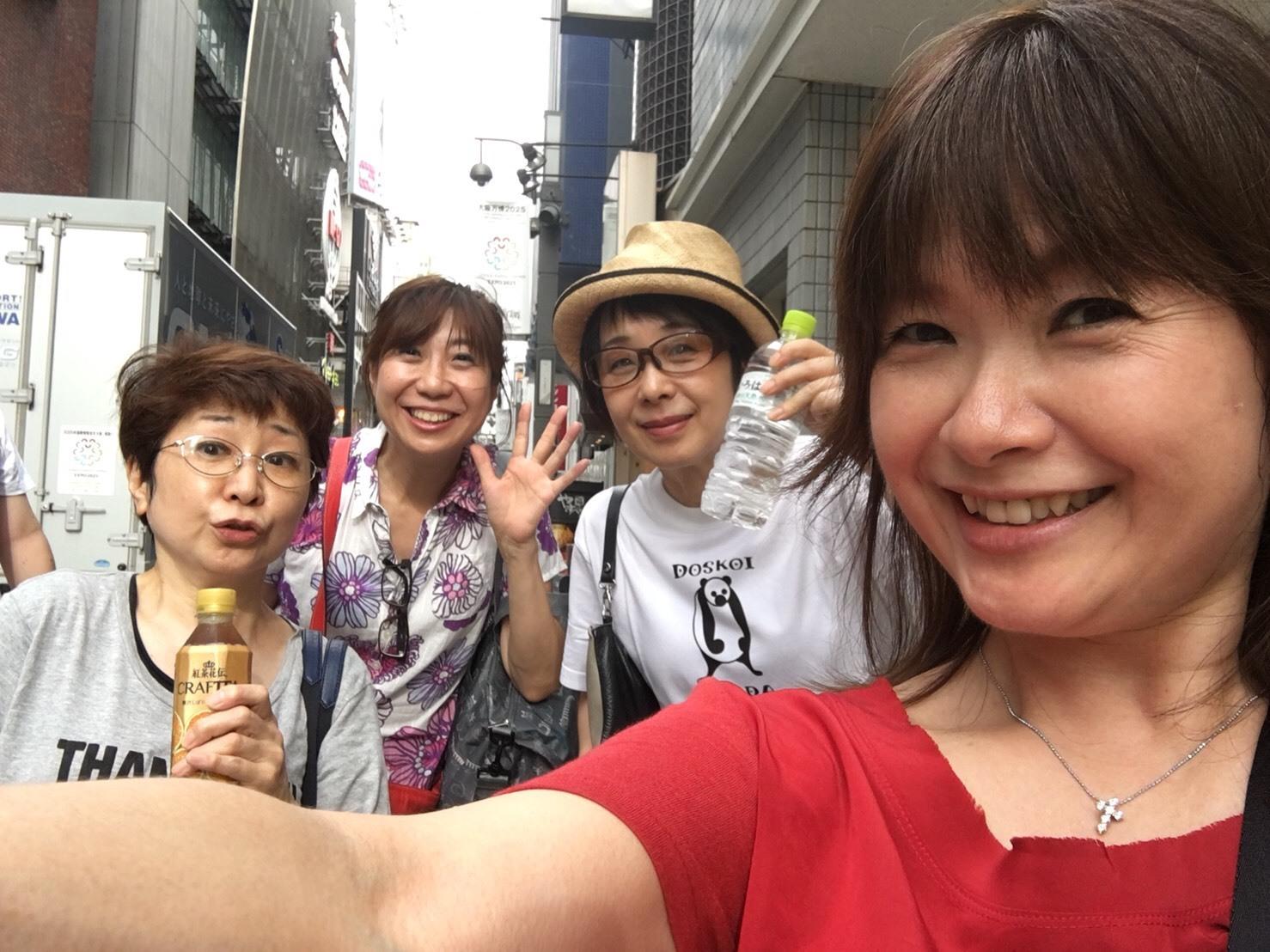 ワンピースプレミアショー 女子会_a0163623_11133563.jpg