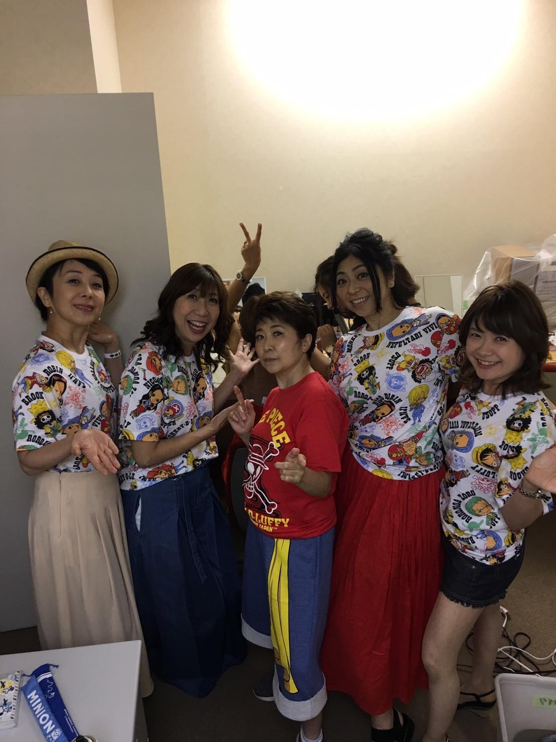 ワンピースプレミアショー 女子会_a0163623_11152519.jpg