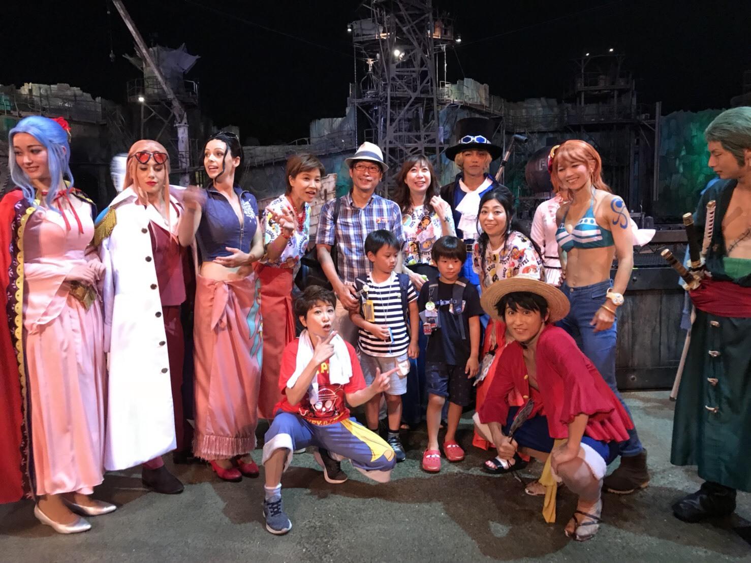ワンピースプレミアショー 女子会_a0163623_11160022.jpg