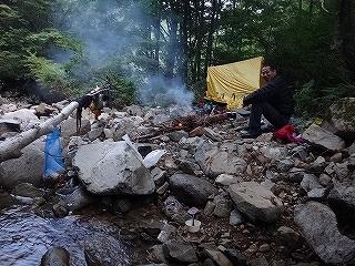 夏休み源流男キャンプ(北アルプス)_e0064783_13183310.jpg