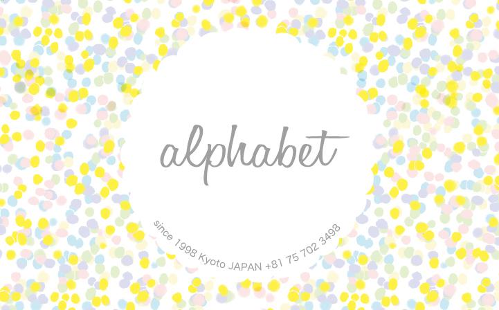 【alphabet スタンプカードの終了について】_b0184796_11313104.jpg