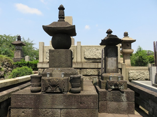 お奈津の方のお墓(江戸のヒロインの墓⑥) _c0187004_18311165.jpg