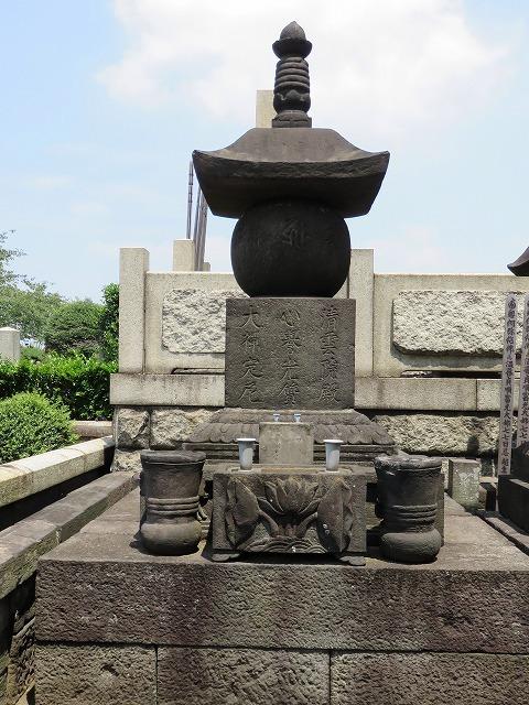 お奈津の方のお墓(江戸のヒロインの墓⑥) _c0187004_18311898.jpg